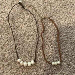 Cute bundle of pearl necklaces!